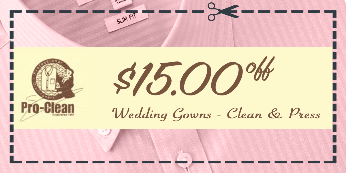proclean couponswedding1