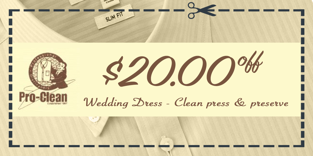 proclean couponswedding2